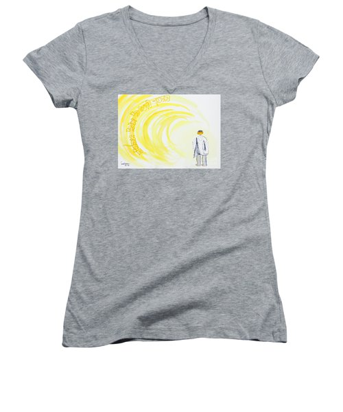 Be Still And Know  Women's V-Neck