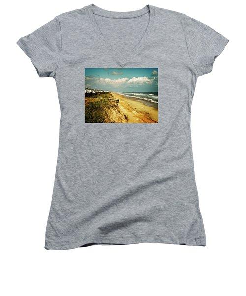 Beach At Corolla Women's V-Neck