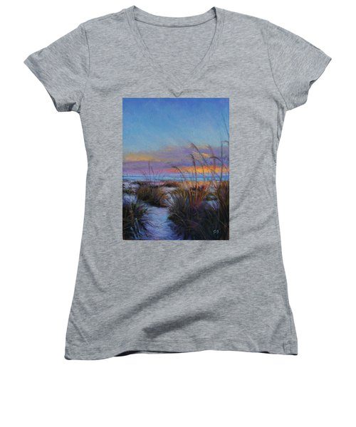 Beach Escape Women's V-Neck