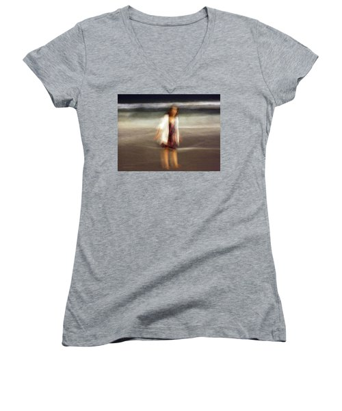 Beach Night 3 Women's V-Neck