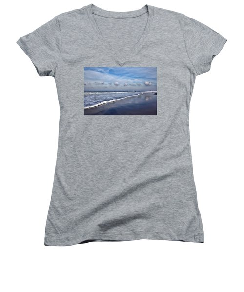 Beach Reflections Women's V-Neck