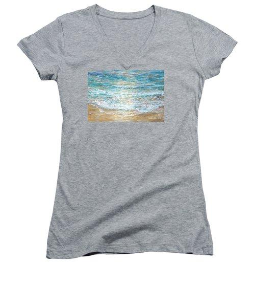 Beach Tide Women's V-Neck