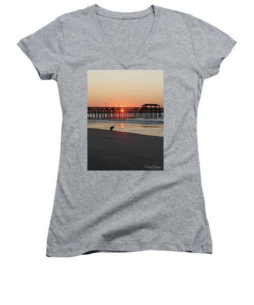 Beachcomber Women's V-Neck T-Shirt