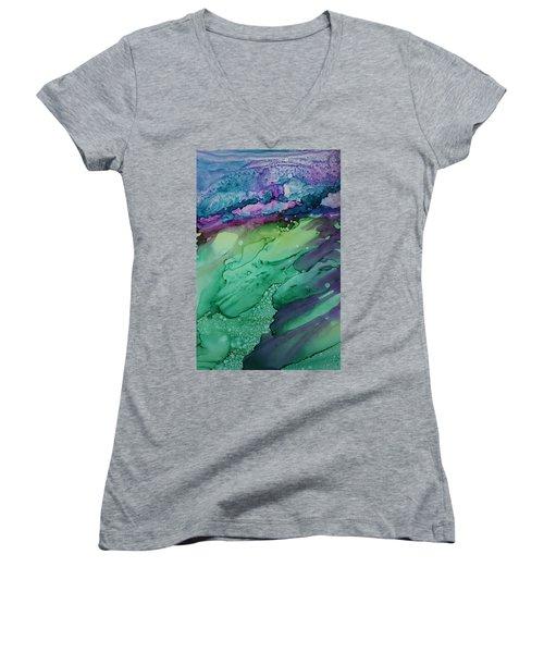 Beachfroth Women's V-Neck T-Shirt