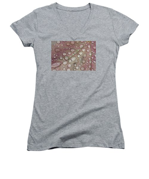 Beads Women's V-Neck (Athletic Fit)