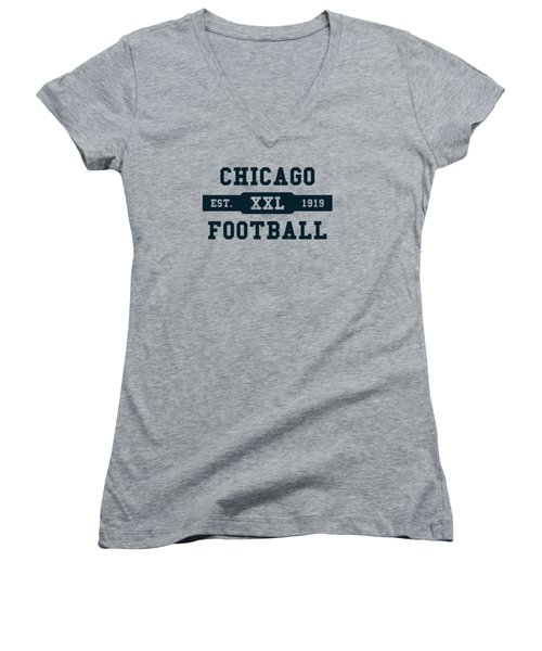 Bears Retro Shirt Women's V-Neck (Athletic Fit)