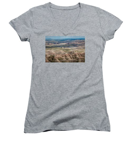 Beautiful Badlands Women's V-Neck (Athletic Fit)