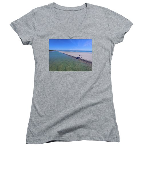 Beautiful One Day And Perfect The Next Women's V-Neck