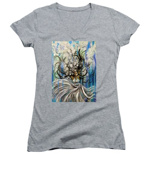 Beautiful Struggle Women's V-Neck