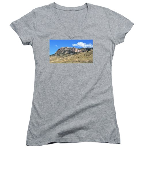 Beautiful Wyoming Women's V-Neck (Athletic Fit)
