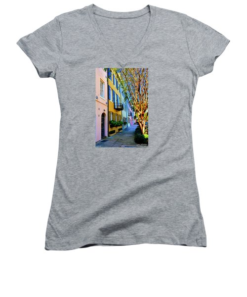 Beauty In Colors Women's V-Neck