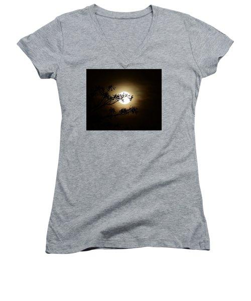 Beauty Is Life Women's V-Neck T-Shirt (Junior Cut) by Angela J Wright