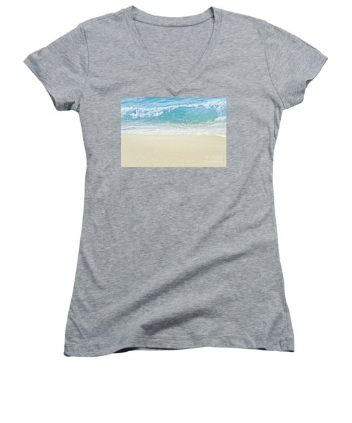 Women's V-Neck T-Shirt featuring the photograph Beauty Surrounds Us by Sharon Mau