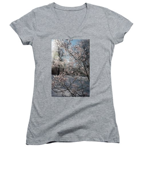 Beauty Within Women's V-Neck (Athletic Fit)