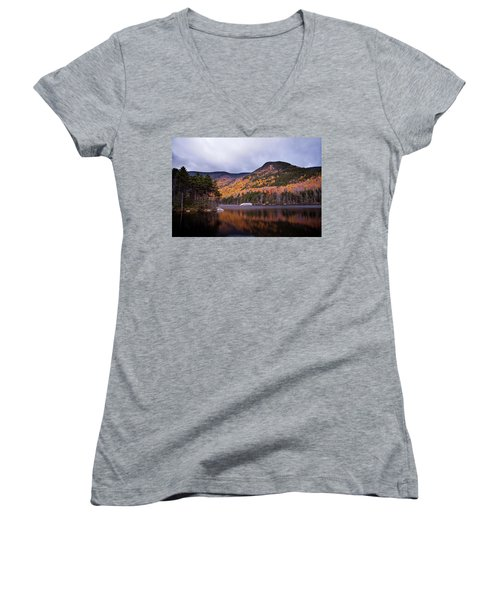 Beaver Pond Women's V-Neck (Athletic Fit)