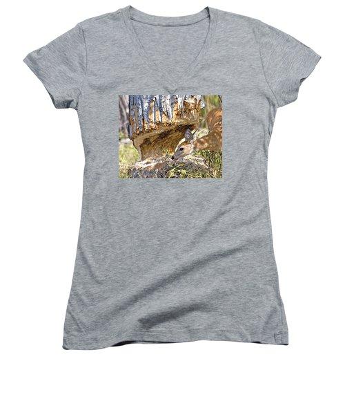 Beaver Wannabe Women's V-Neck