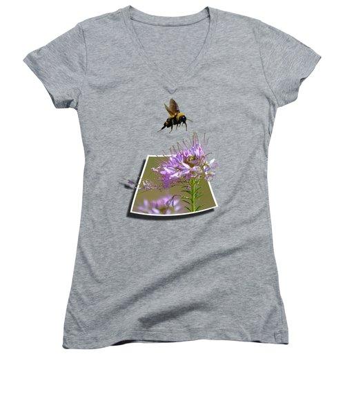Bee Free Women's V-Neck