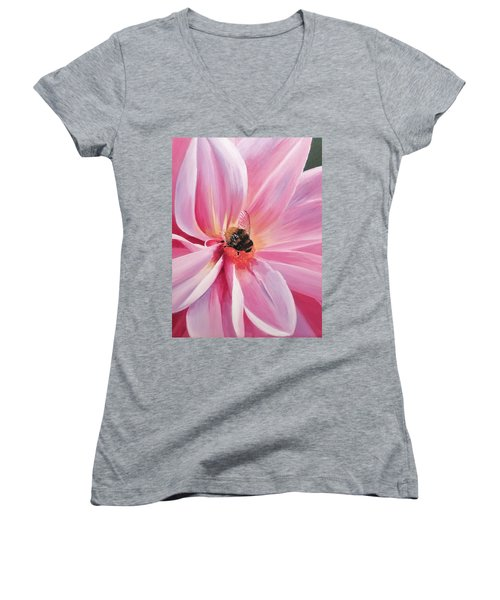 Bee-utiful Women's V-Neck T-Shirt