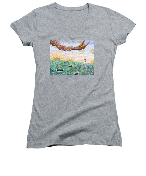 Bee's Foot Women's V-Neck