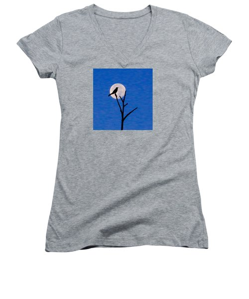 Before Dawn Women's V-Neck T-Shirt