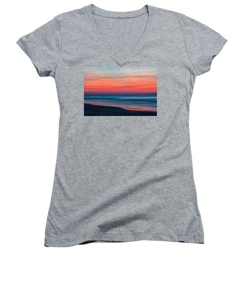 Before Sunrise Women's V-Neck T-Shirt