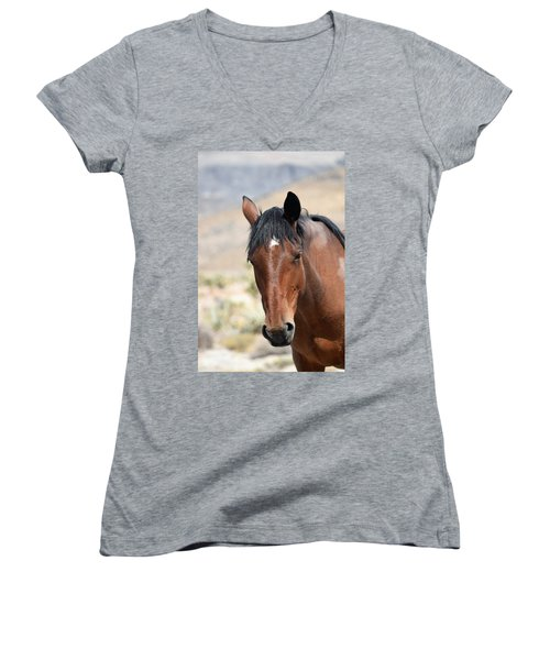 Before The First Snowfall Women's V-Neck (Athletic Fit)