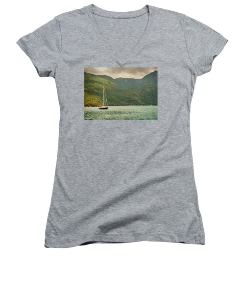 Before The Storm Women's V-Neck