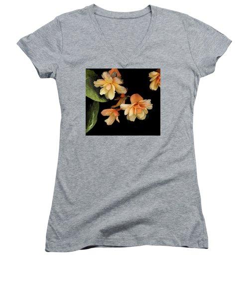 Begonias 2 Women's V-Neck