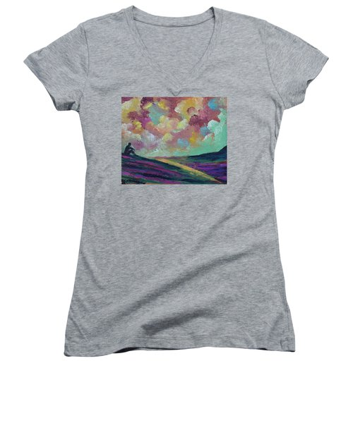 Being Women's V-Neck T-Shirt