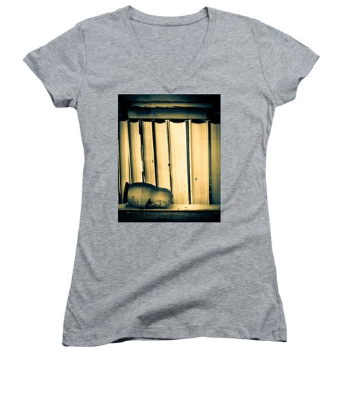 Being John Malkovich Women's V-Neck T-Shirt