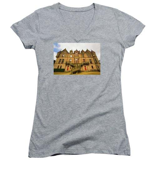 Belfast Castle Women's V-Neck T-Shirt