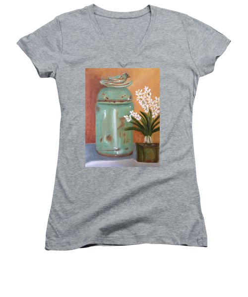Bell Jar Women's V-Neck (Athletic Fit)