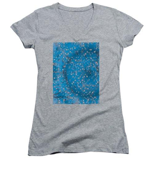 Bell-shaped Flowers Women's V-Neck T-Shirt