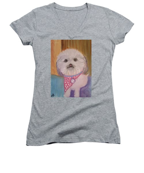Bella Baby Women's V-Neck T-Shirt