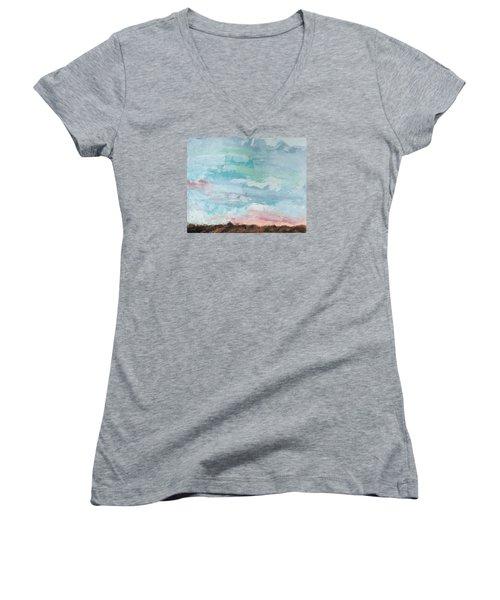 Beloved Women's V-Neck T-Shirt (Junior Cut) by Nathan Rhoads