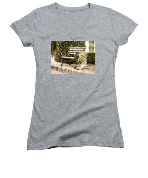 Bench And Boot 2 Women's V-Neck