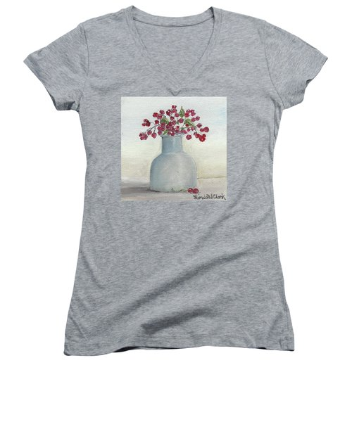 Berries Women's V-Neck T-Shirt