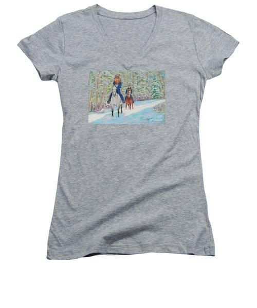 Beth And Nancy  Women's V-Neck T-Shirt