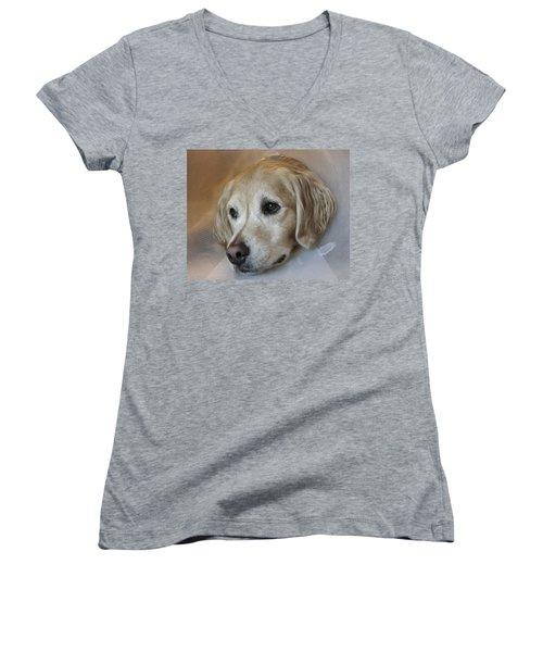 Better Days Ahead Women's V-Neck T-Shirt
