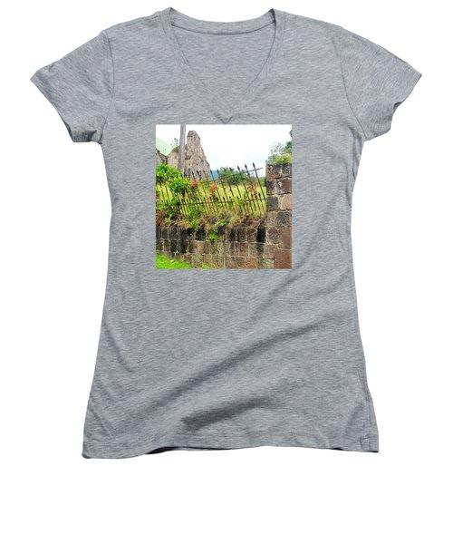 Better Days Women's V-Neck T-Shirt (Junior Cut) by Ian  MacDonald