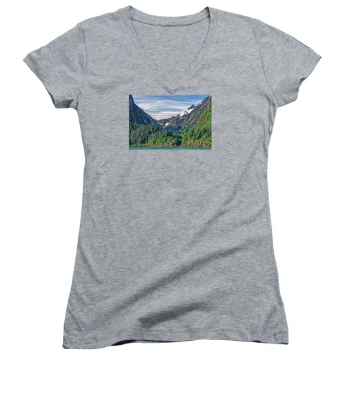 Between The Peaks Women's V-Neck T-Shirt