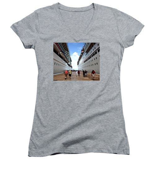 Beween Two Ships Women's V-Neck