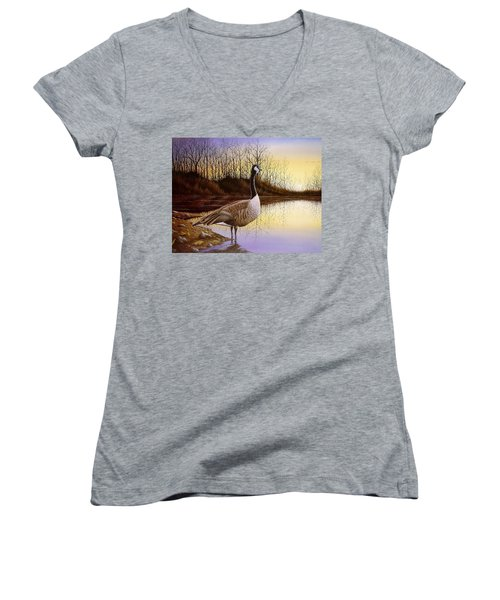 Beyond The Horizon Women's V-Neck