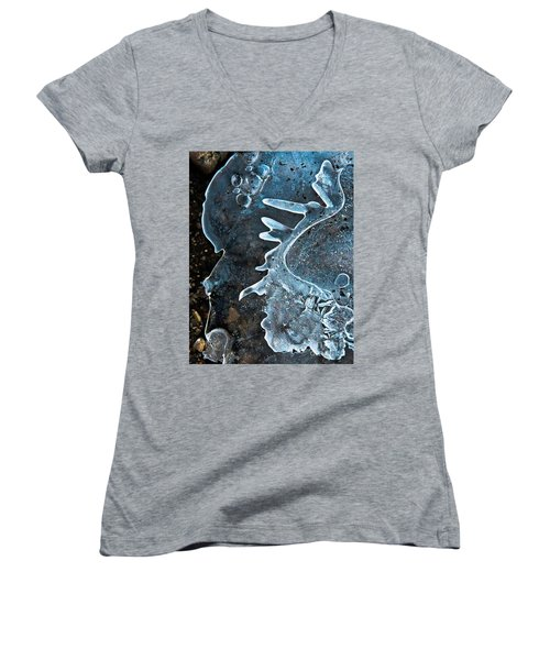 Beyond Women's V-Neck T-Shirt (Junior Cut) by Tom Cameron