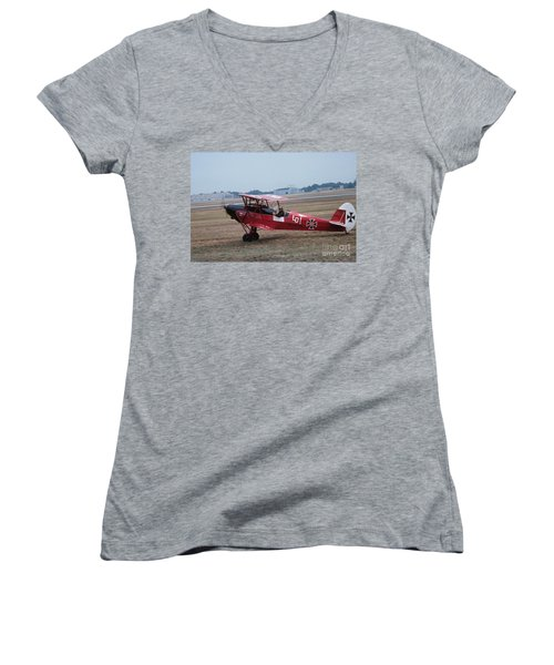 Bi-wing-2 Women's V-Neck