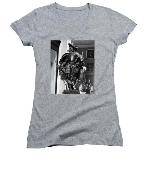 Bienville In Bronze Women's V-Neck T-Shirt