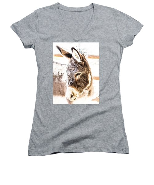 Big Ears Women's V-Neck