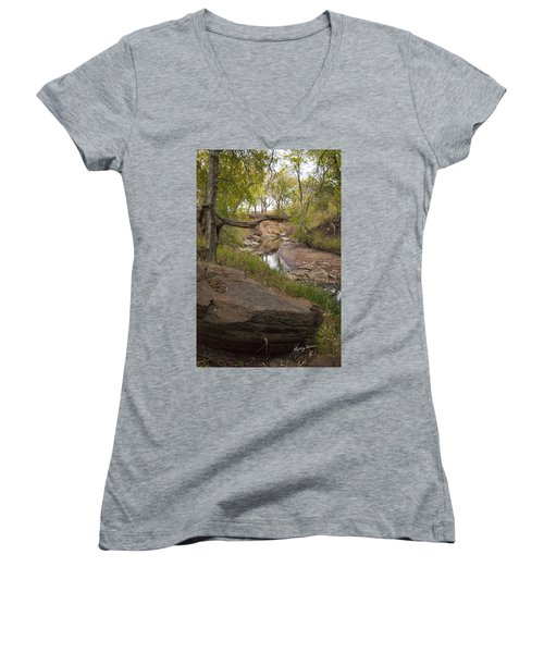 Big Stone Creek Women's V-Neck T-Shirt