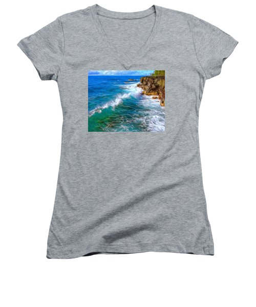 Big Sur Coastline Women's V-Neck