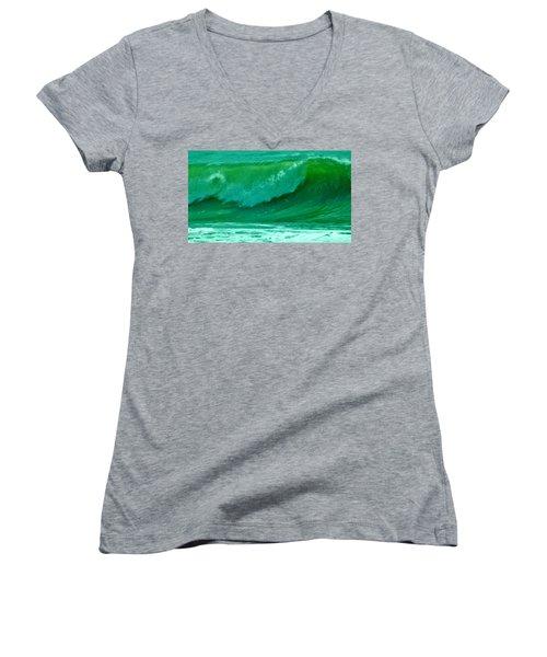Big Surf 2 Women's V-Neck T-Shirt